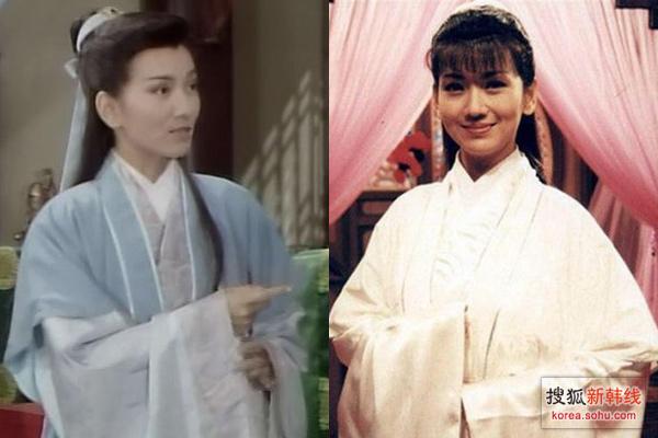 赵雅芝/赵雅芝也在《新白娘子传奇》中很好看的男装造型