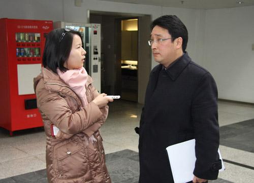 搜狐汽车记者现场采访刘卫东