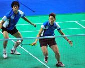 图文:李龙大/李孝贞2-0晋级 韩国组合有备而来