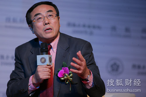 中国政法大学教授刘纪鹏(刘丹摄)