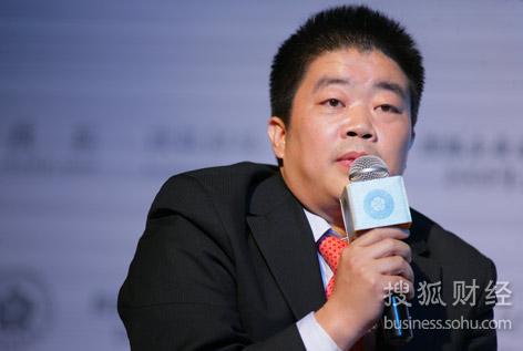 华旗资讯董事长冯军(刘丹摄)