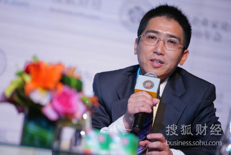 阳光100置业集团董事长易小迪(刘丹摄)