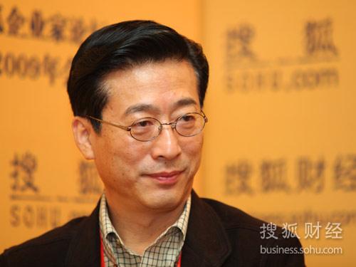搜狐财经专访美克投资集团有限公司董事长冯东明