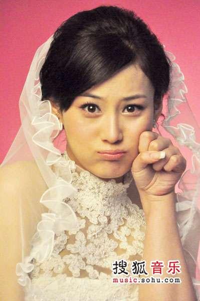 刘欢我和你43拍歌谱-张馨予表情搞怪灵气逼人拍婚纱照 急嫁人