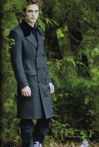 男明星穿绿色外套