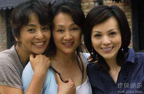三姐妹:李勤勤、王姬、王琳