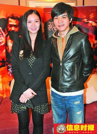 《我的唐朝兄弟》女演员王晓和杨树鹏。 朱元斌 摄