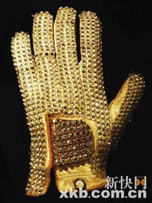 杰克逊的一副魔力手套