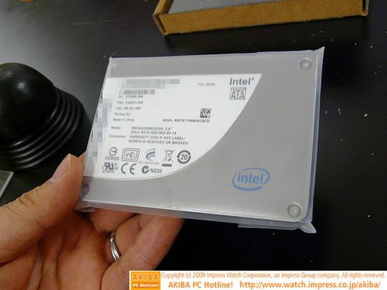 威刚贴牌版Intel X25-M G2固态硬盘上市