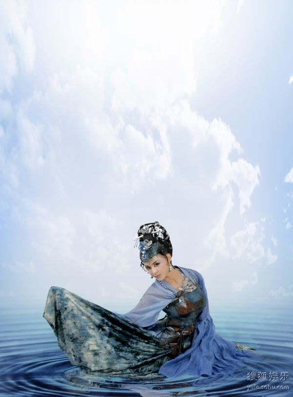图:浙版《西游记》人物定妆照―― 青灵