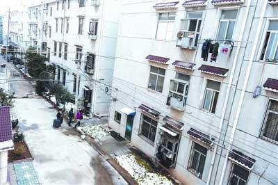 """曙光新村因房租便宜,成为""""江蚁""""最为聚集的租住区。"""