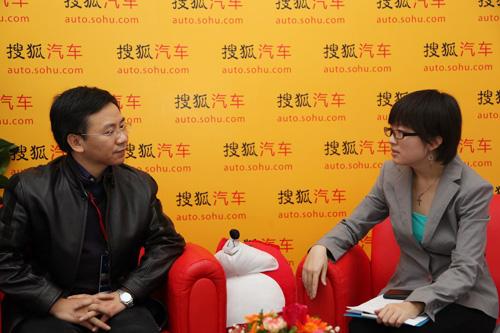 东风柳州汽车有限公司总经理助理、销售公司总经理姚利文接受搜狐专访