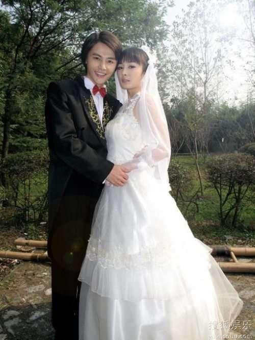 孙坚、杨幂唯美结婚照