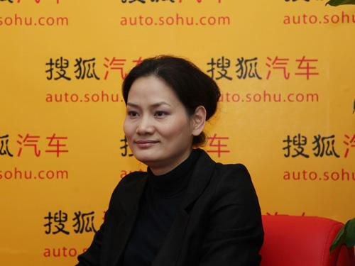 上海汽车市场传播部总监何晓劲