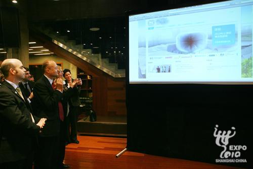 上海世博会英国馆官方网站正式启动