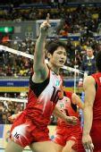 图文:巴西男排五连胜成功卫冕 日本男排得分