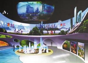 上海世博会重庆展区效果图
