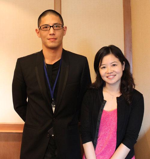 蒋介石曾孙、橙果设计创办人蒋友柏接受搜狐财经专访