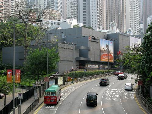 香港壁球中心外景
