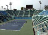 东亚运动会网球比赛场馆 维多利亚公园网球中心