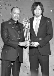 远藤保仁当选亚洲足球先生