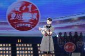 图文:亚运啦啦队选拔广州站 苏玲上台致词