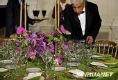 在白宫体验美国国宴(组图)
