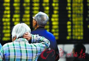 昨日两市个股普跌。新华社图