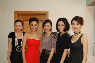 剧中五女儿杨婷婷、马雅舒、于小磊、刘笑妃、谭歆柔
