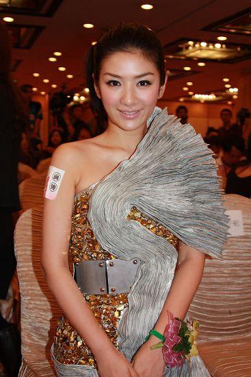 黄奕早前亮相《叶问前传》于香港举办的记者会