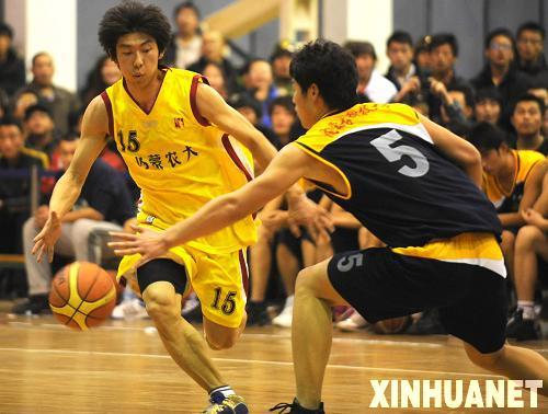 内蒙古举办2009年大学生篮球赛[组图]