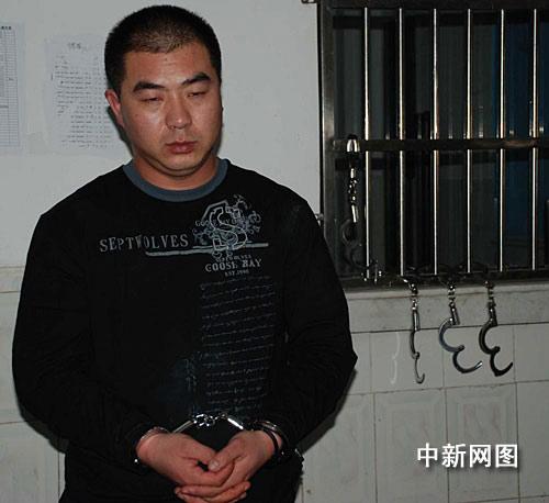 在三亚落网的嫌犯李磊。作 者:张运煦