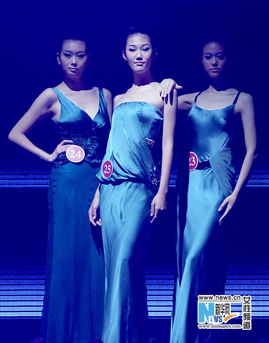 组图:中国职业模特大赛落幕 北京选手夺冠