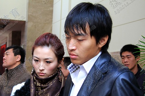 冯潇霆和娇妻