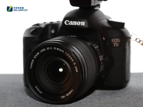 配15-85mm防抖镜头 佳能单反7D新套机上市