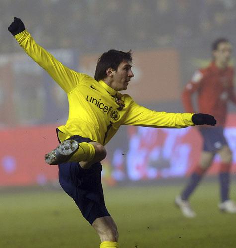 1月12日 08/09赛季西甲第18轮 奥萨苏纳2比3巴塞罗那