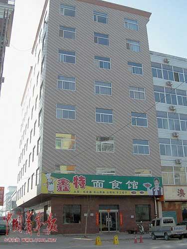 村民指认这是李世明的住宅