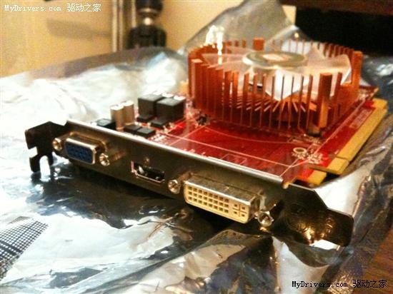 Radeon HD 5670实物、规格、测试