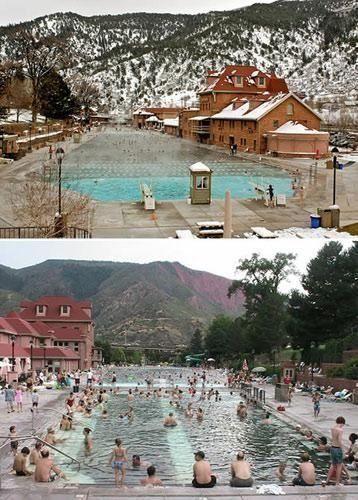 格伦伍德温泉:世界最大的天然温泉游泳池