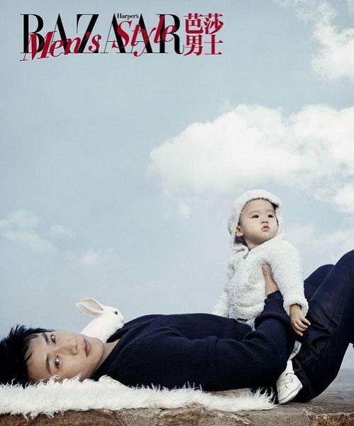 陆毅与他可爱的女儿