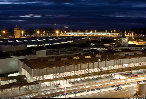 瑞士苏黎世机场实景图