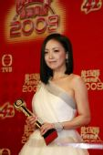 图:TVB台庆颁奖庆功会 邓萃雯