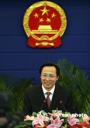 原吉林省省长韩长赋出任农业部党组书记(图)