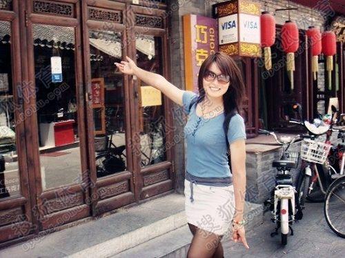 香港美女导游_图文:中国橄榄球第一美女管奇仕 化身美丽导游-搜狐体育