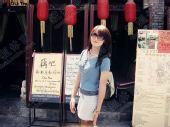 图文:中国橄榄球第一美女管奇仕 阳光下的美女