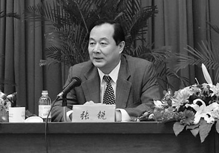 曾任青岛市副市长的张锐。(资料片)