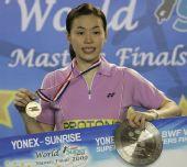 图文:09羽联超级赛总决赛 黄妙珠获得冠军