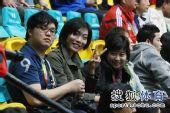 图文:中国女排3-0中华台北 张平现身看台