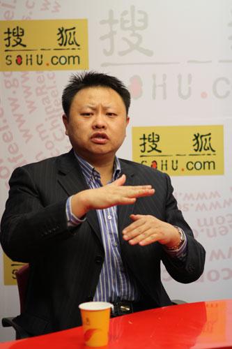 中科院《科学新闻杂志社》的总编辑贾鹤鹏