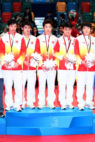 男团冠军-中国